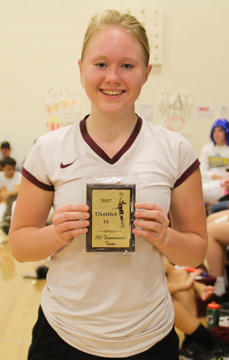 Jessica Rosencrans, All Tournament Team